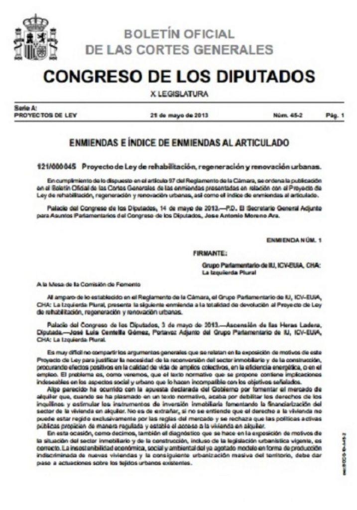 Enmiendas-Proyecto-Ley-Rehabilitacion-Regeneracion-Renovacion-Urbana