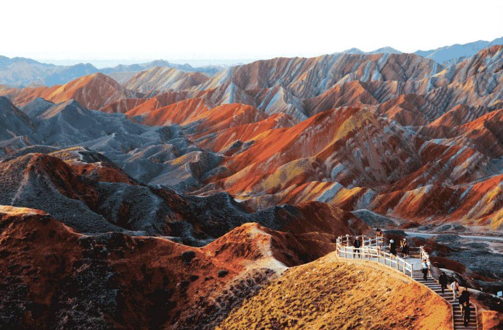 paisajes-increibles-mundo-zhangye-china