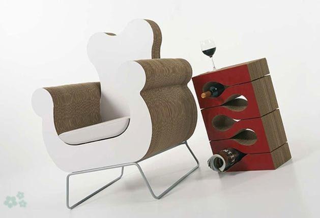 muebles-reciclados-de-carton
