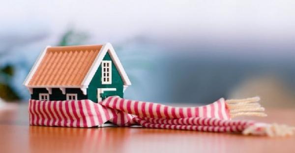 casa con bufanda