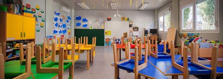 Módulos Prefabricados para Aulas y Colegios