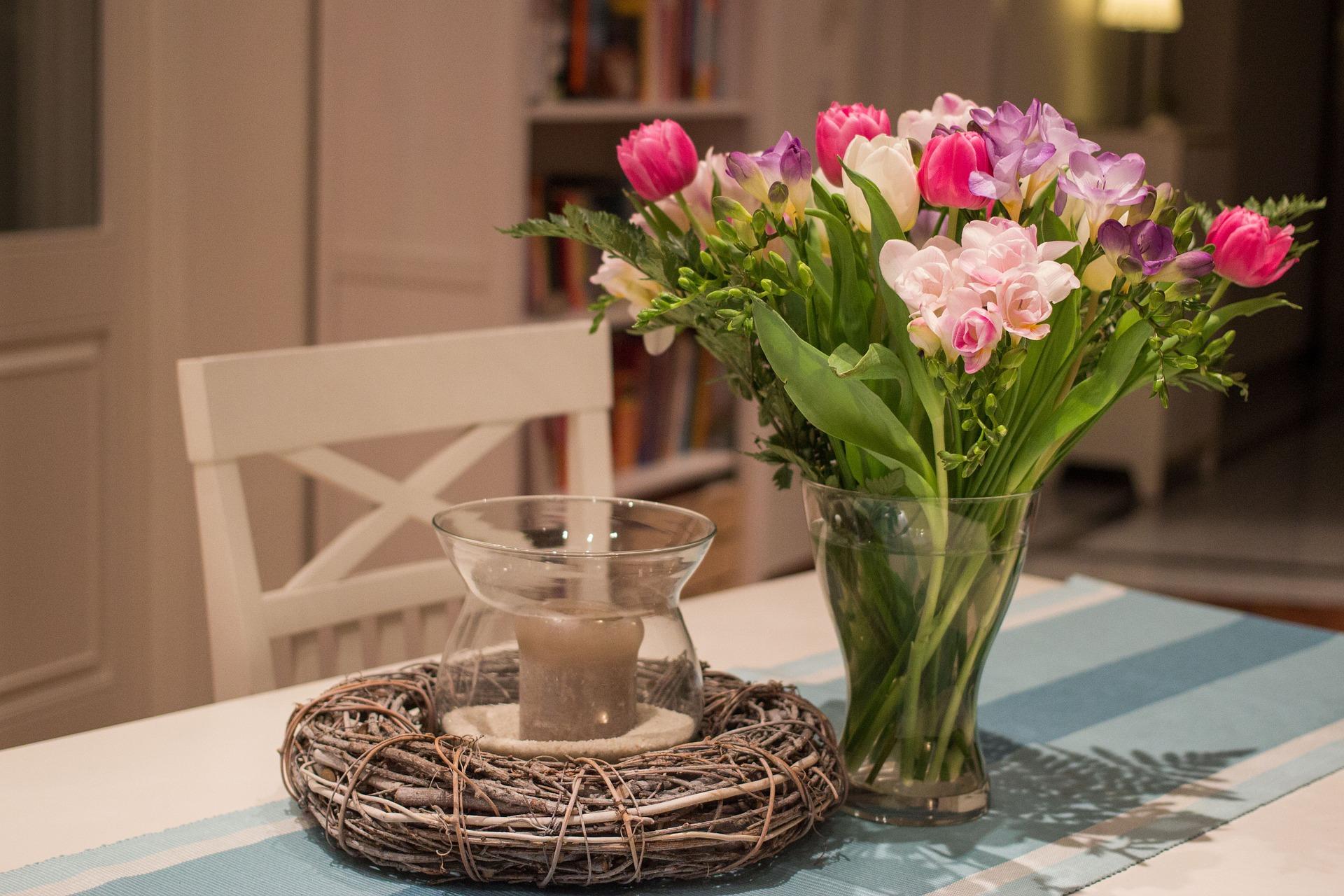 Ramo de flores decoración