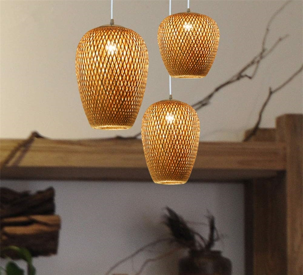 lampara-techo-bambu