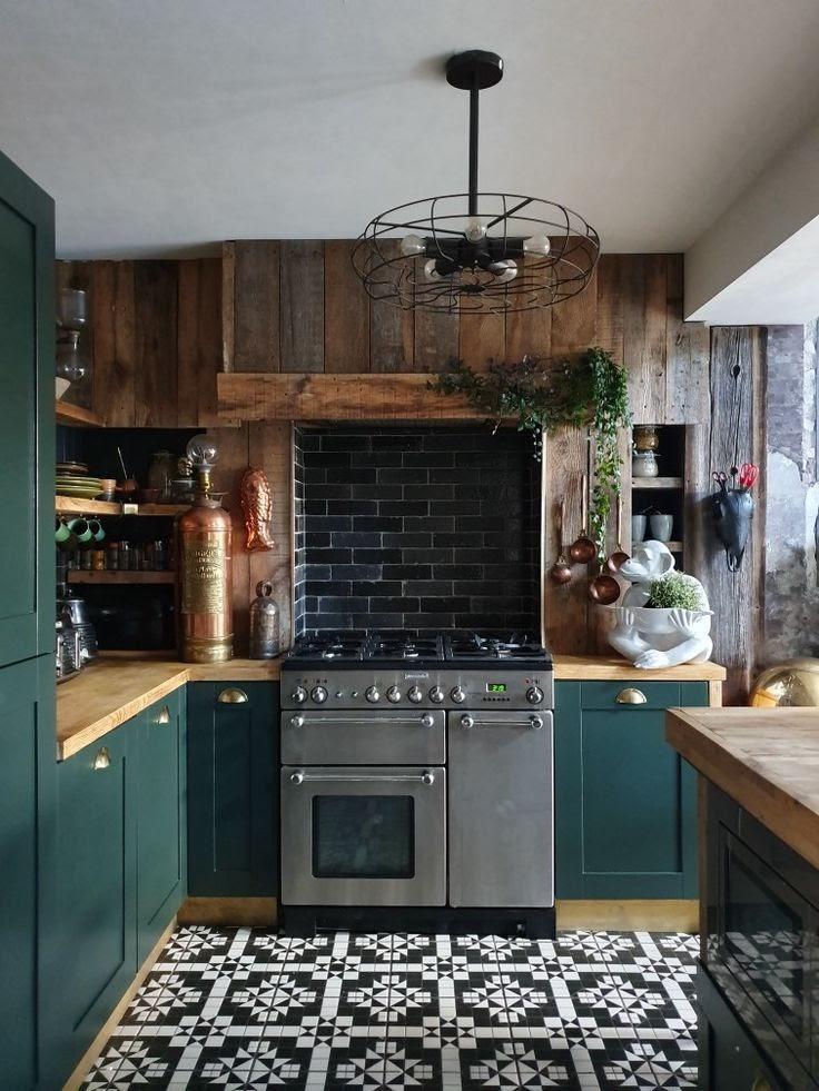 cocina-verde-tendencias