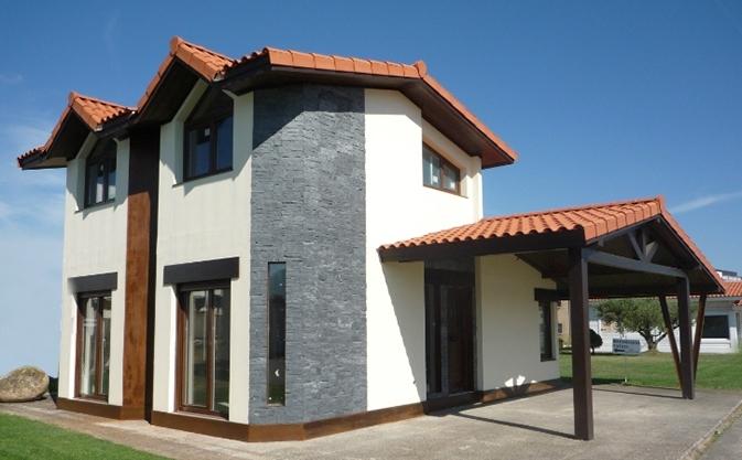 casa-prefabricada-rústica-acero