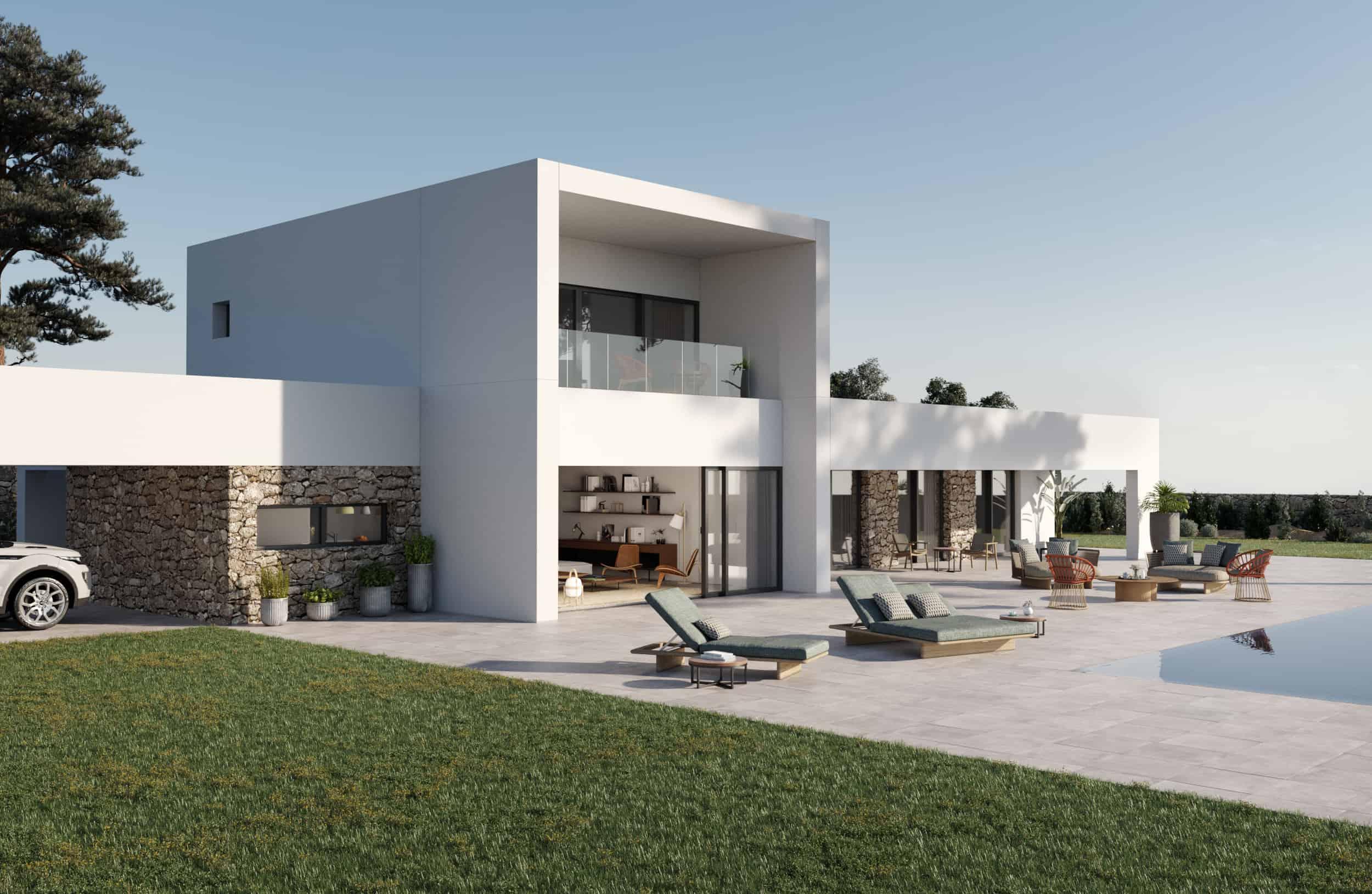 casa-prefabricada-moderna-hormigón