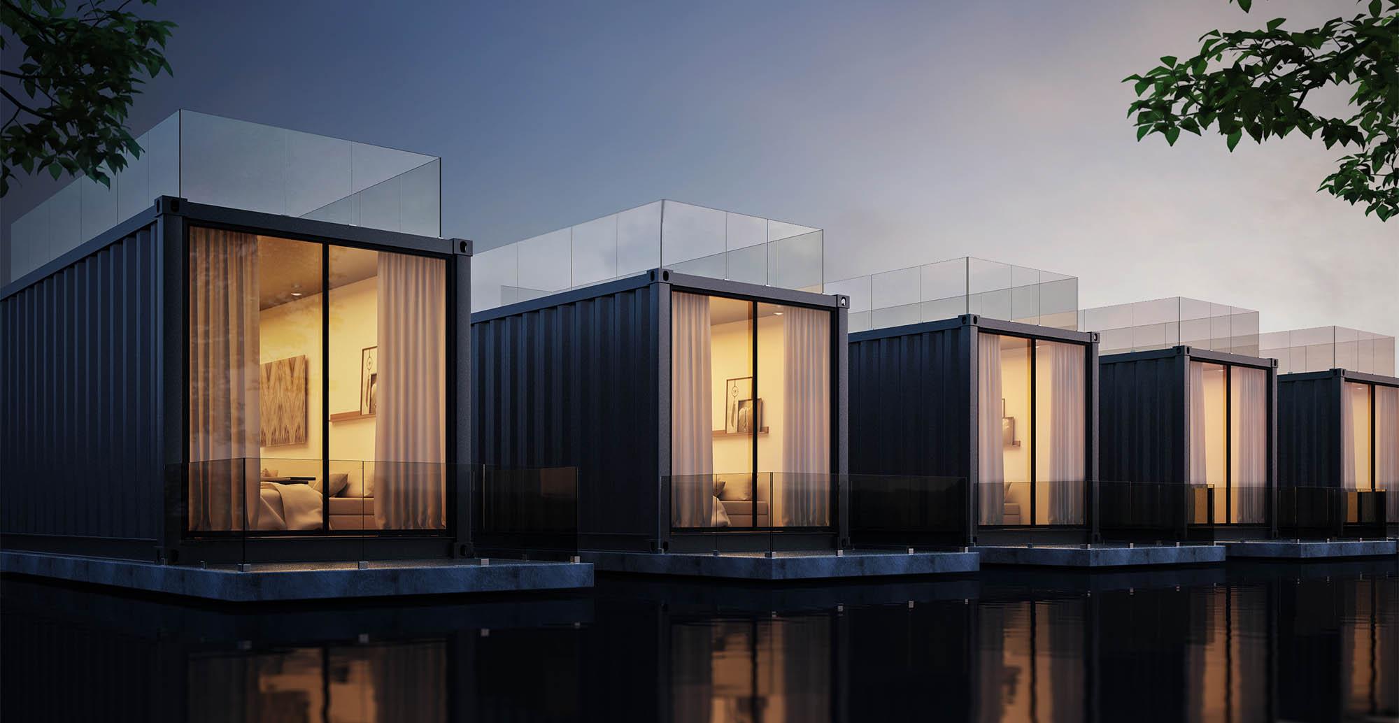 casas-container-noche