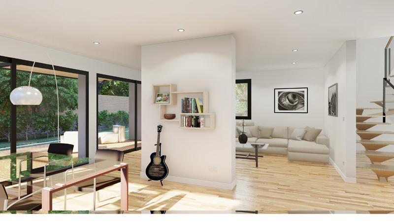 Interior Casa Pasiva