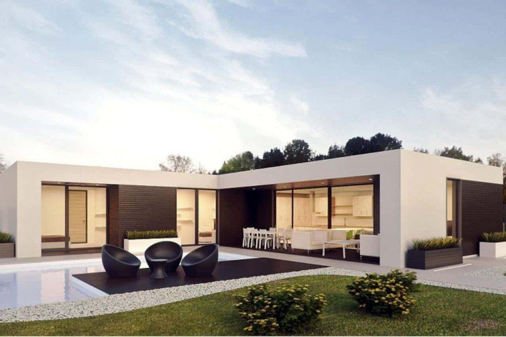 casa-prefabricada-piscina